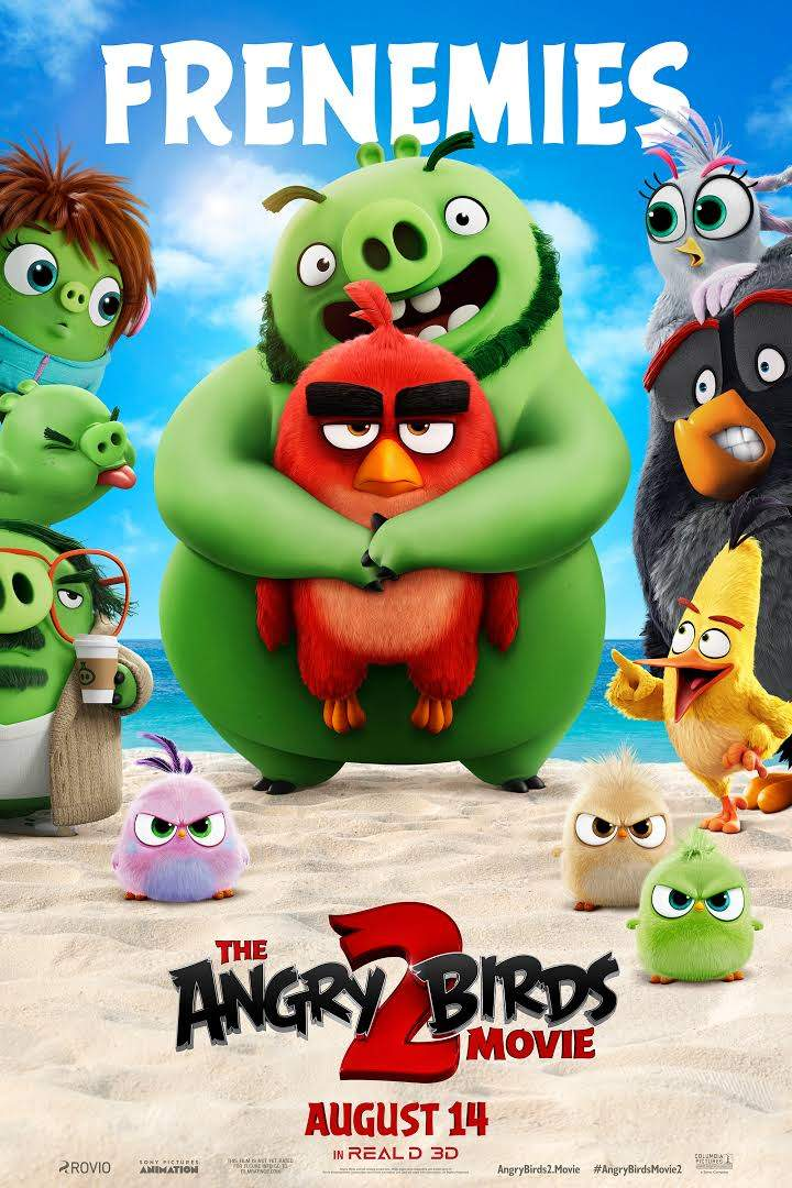 Download Movie: The Angry Birds Movie 2 (2019) [HC-HDRip] Fzmovies.net
