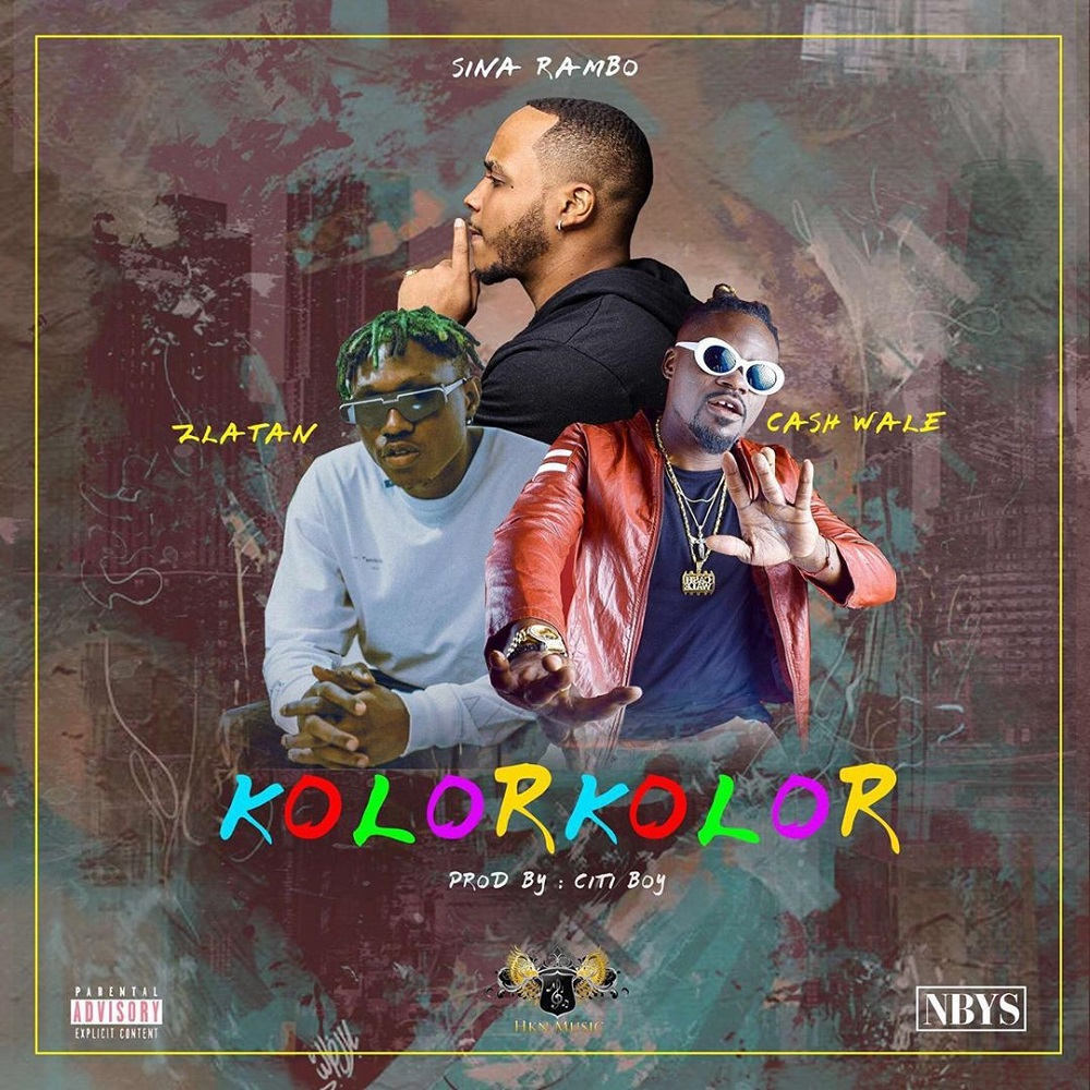 Sina Rambo - Kolor Kolor Ft Zlatan & Cash Wale Mp3 Download