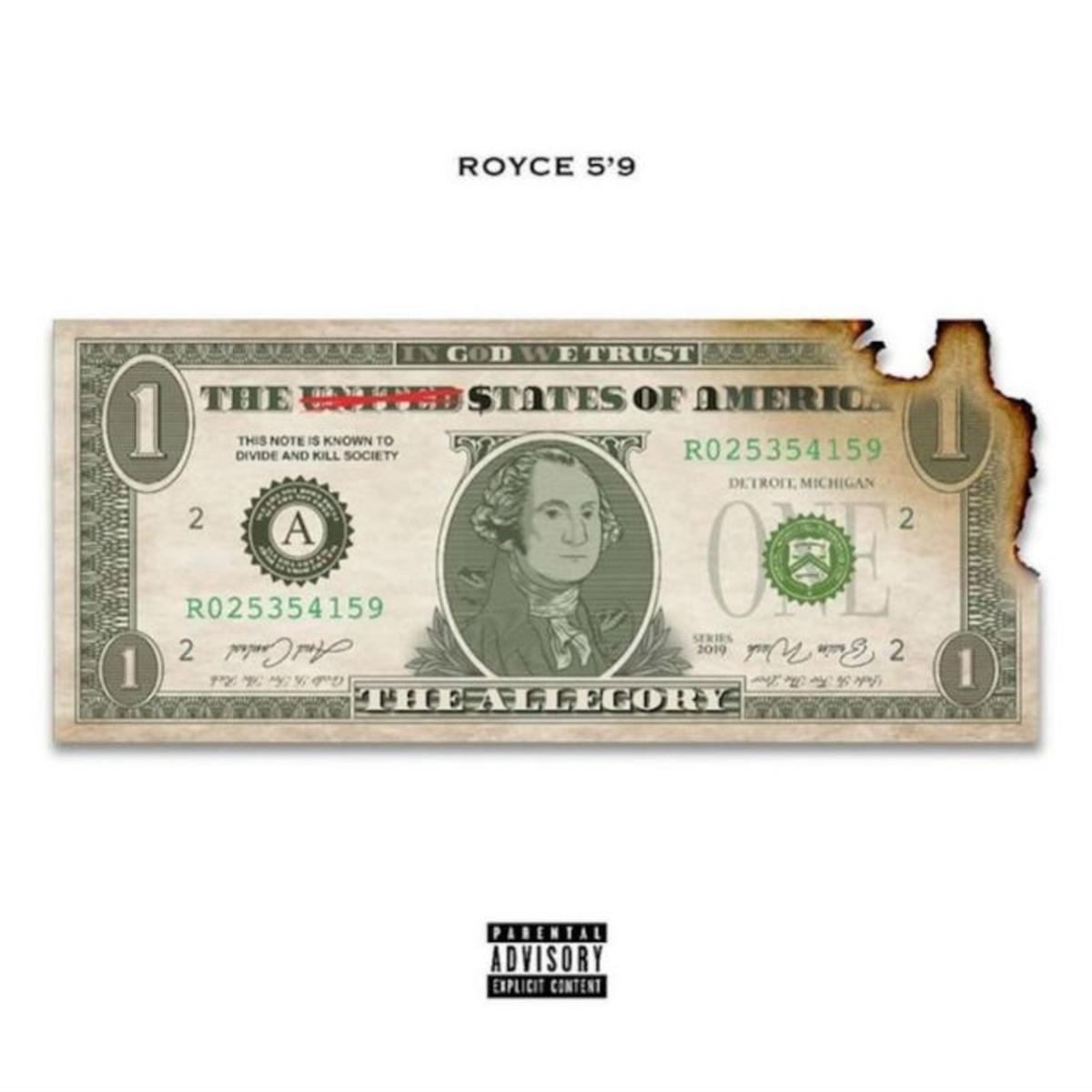 DOWNLOAD ZIP Royce da 5'9 - The Allegory Album