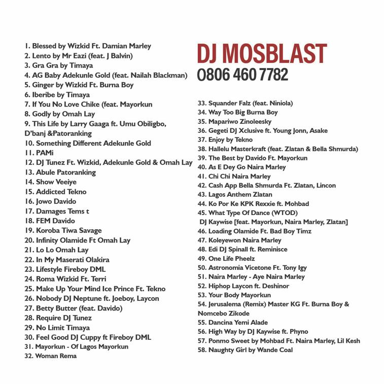Mixtape: DJ Mosblast - The Baba Oh