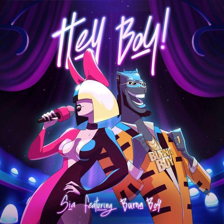 Sia - Hey Boy Ft. Burna Boy