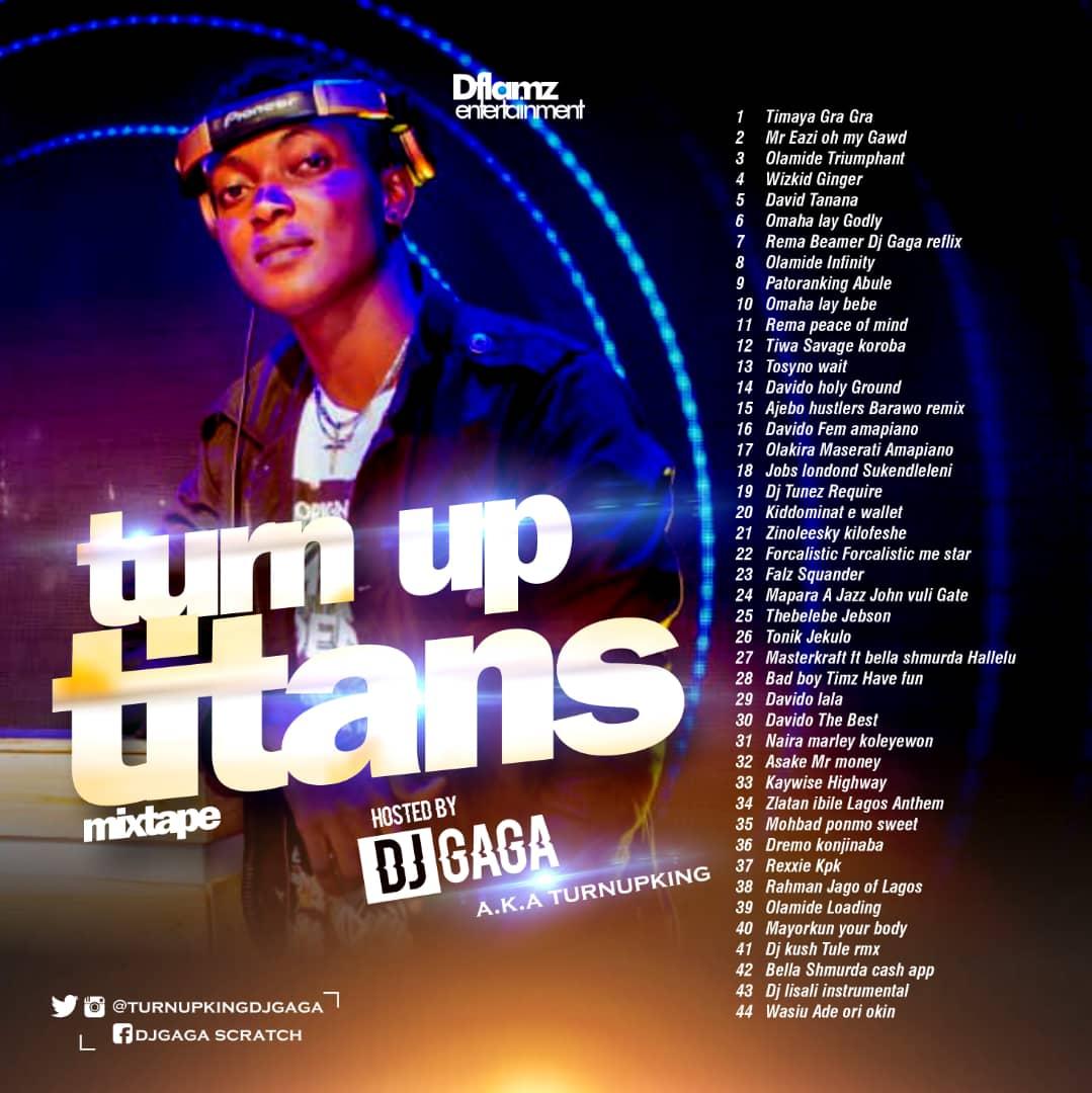 Mixtape: Dj Gaga - Turn up Titans