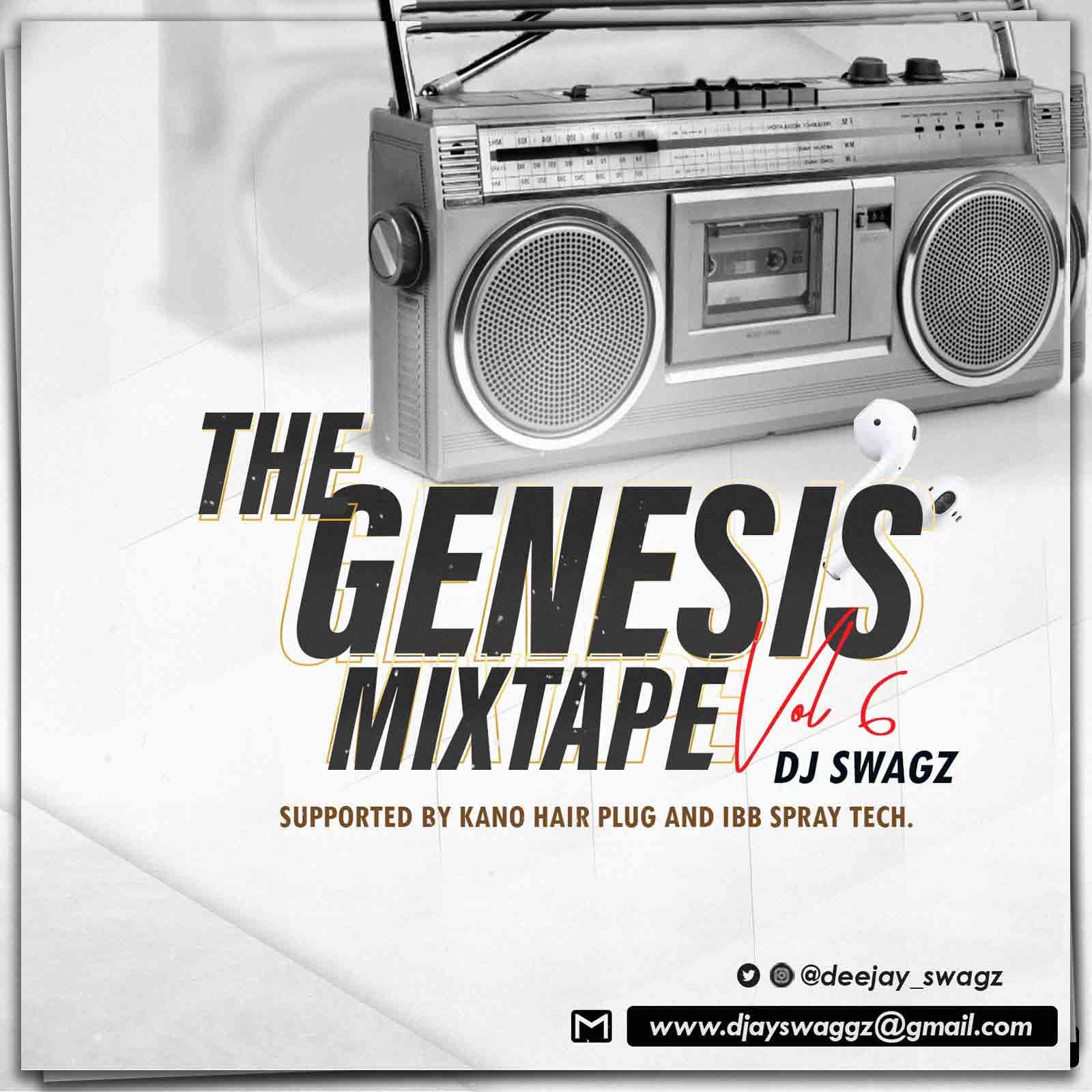 Mixtape: Dj Swag - The Genesis Mixtape Vol. 6
