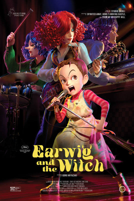 Movie: Earwig and the Witch (2020)
