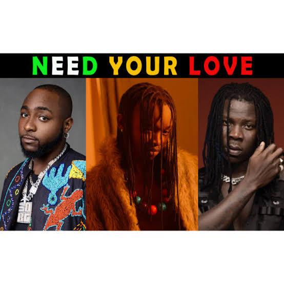 Ayanfe - Need Your Love Ft. Davido & Stonebwoy