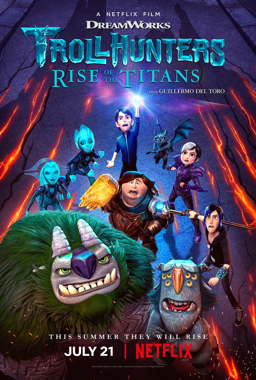 Movie: Trollhunters: Rise of the Titans (2021)