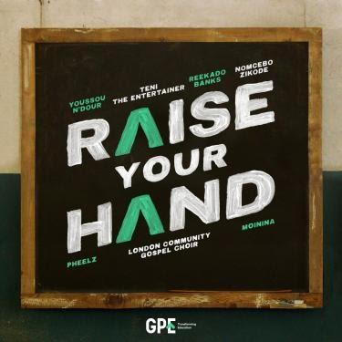 DOWNLOAD MP3 Reekado Banks - Raise Your Hand Ft. Teni