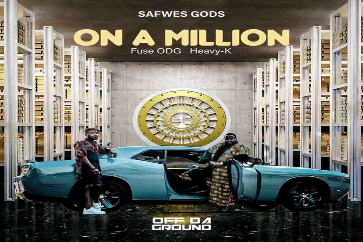 DOWNLOAD MP3 Fuse ODG - On A Million Ft. Heavy-K
