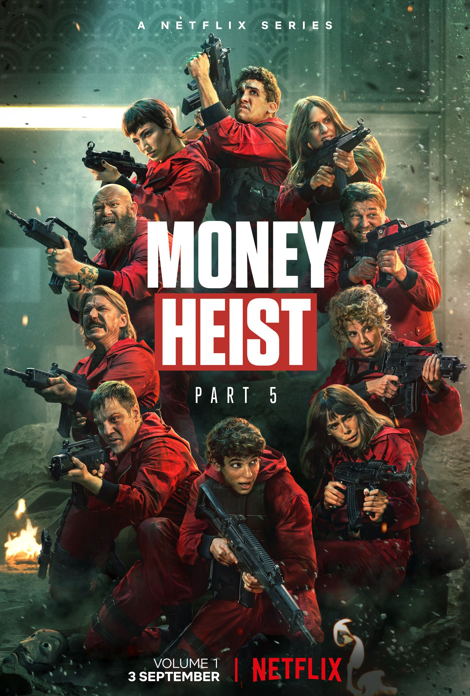 Money Heist Season 5 Episode 1-5 (Volume 1)